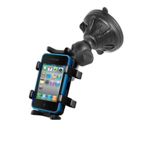 NEW HEAVY DUTY SUCTION CUP MOUNT FOR CELL PHONE AND SMARTPHONE MOBILE DEVICES - landloop