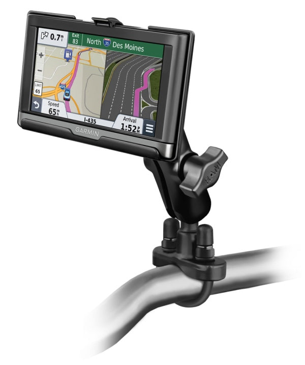 Handlebar Bike Motorcycle Mount Holder for Garmin nuvi 2557LMT 2577LT & 2597LMT - landloop