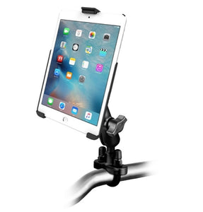 Heavy Duty U-Bolt Motorcycle Bike Mount Holder Kit fits Apple iPad mini 4 - Landloop
