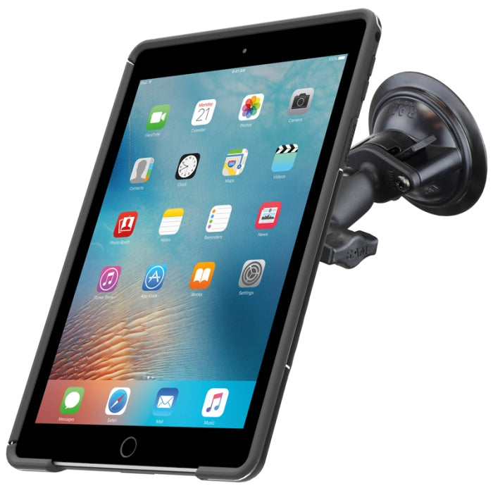 RAM-B-166-OT3U RAM Twist-Lock Suction Cup Mount with Quick Release for OtterBox uniVERSE iPad Air 2 and iPad Pro 9.7 Case - landloop
