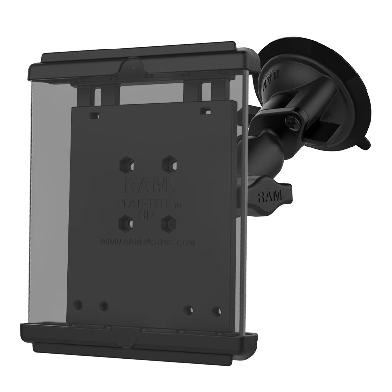 RAM-B-166-TAB12U RAM Tab-Tite with RAM Twist-Lock Suction Cup for iPad mini 1-4 - Landloop