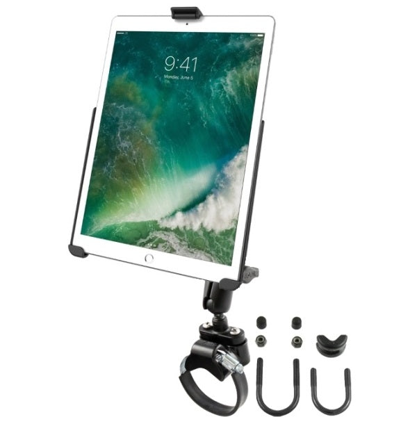 "RAM Yoke Strap ATV UTV Rail Tube Mount Holder Kit fits Apple iPad Pro 10.5"" - landloop"