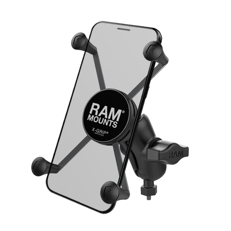 RAM-HOL-UN10B-A-379-M616U RAM X-Grip Large Phone Mount with RAM Tough-Ball M6-1 x 6mm Base - Landloop