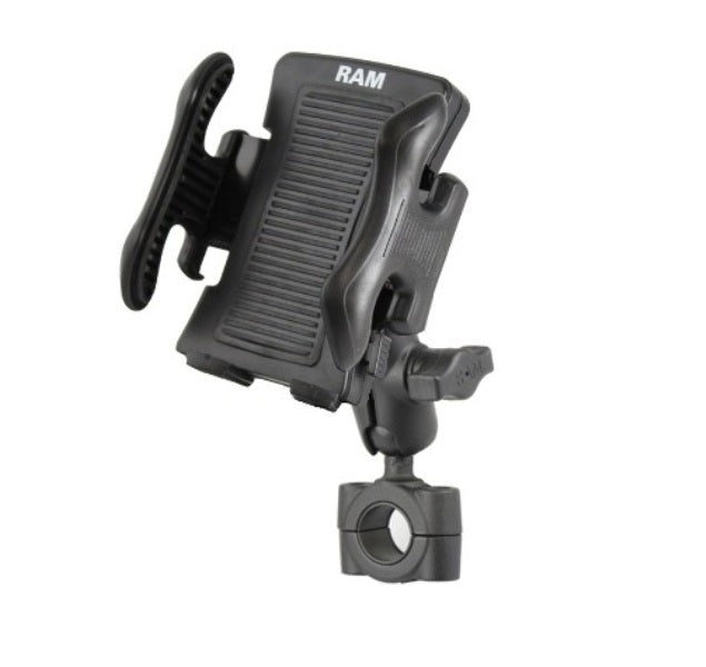 "RAM Mounts Torque 3/4"" - 1"" Handlebar Rail Mount Kit for Smartphones Cell Phones - landloop"