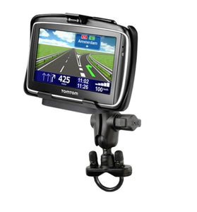 Strong Bike Motorcycle Short Arm Mount Holder Kit fits Gps TomTom GO 740 - Landloop