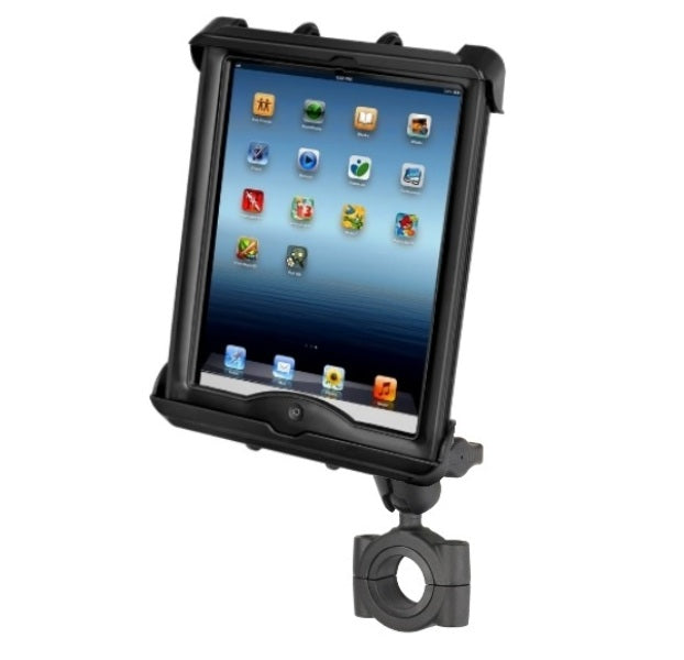 "RAM Torque 1 1/8""-1 1/2"" Short Arm Bike Clamping Mount for Apple iPad 1 2 3 4 in LifeProof or Lifedge Case - landloop"