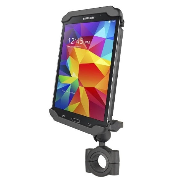 "RAM Torque 1 1/8""-1 1/2"" Short Arm Bike Rail Mount for 7"" Tablets & Samsung Galaxy Tab 4 7.0 - landloop"