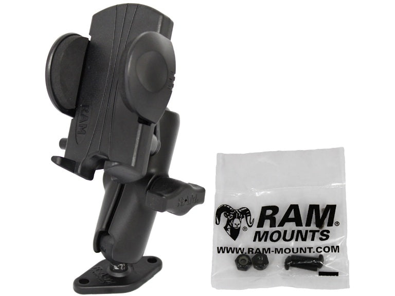 RAM-B-102-UN1U RAM Universal Phone Mount with Diamond Base - landloop