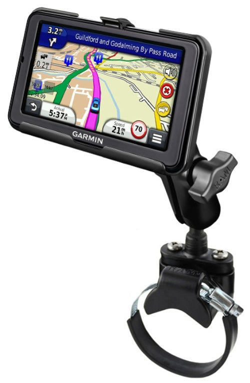 Heavy Duty ATV/UTV Strap Mount Holder for Garmin nuvi 2595LM 2595LMT & 2595LT - landloop