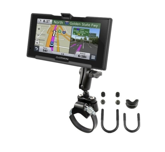 RAM Mounts ATV UTV Strap Handlebar Rail Mount Holder for Garmin nuvi 2689LMT - Landloop