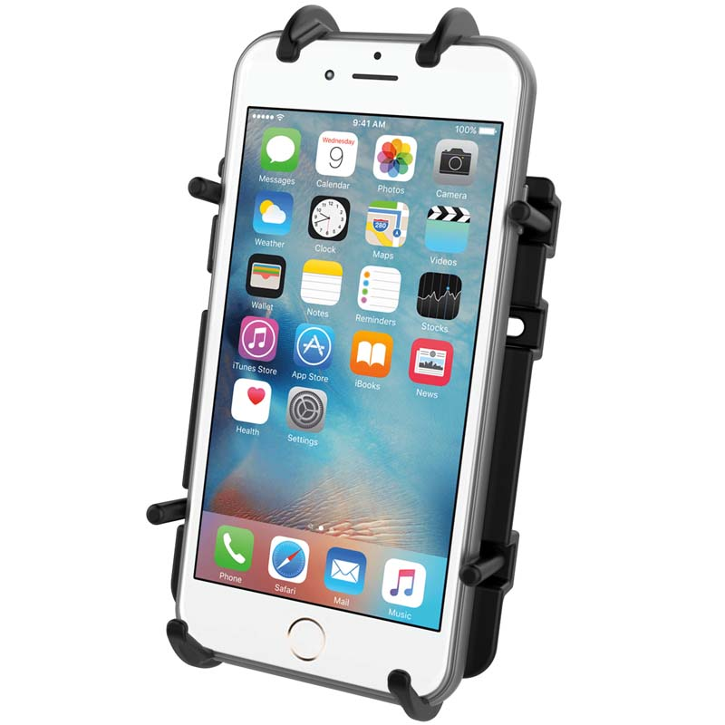 "RAM-HOL-PD3-238AU RAM Mounts Quick-Grip Universal Phone Holder with 1"" Ball - landloop"