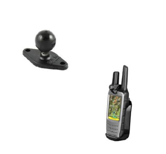RAM-HOL-GA47U RAM Cradle Holder w/ Back Ball for Gps Garmin Rino 610 650 655T - Landloop