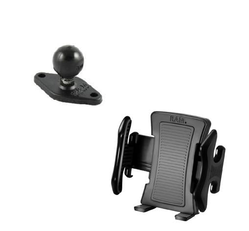RAM-HOL-UN5U RAM Universal Cradle w/ Back Ball for Cell Phones iPhones iPods - Landloop