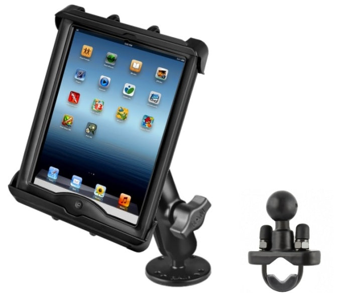 Car + Rail Mount for Apple iPad 2 3 4 w/ LifeProof nüüd Case & Lifedge Case - Landloop