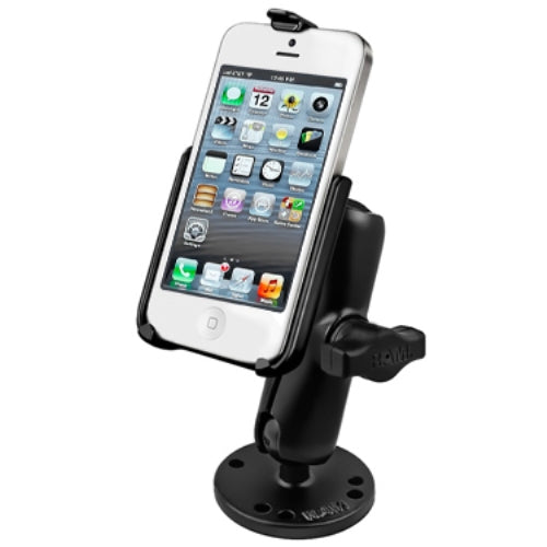 RAM Strong Heavy Duty Handlebar Bike Motorcycle Mount Holder for Apple iPhone 5 5S & SE - Landloop