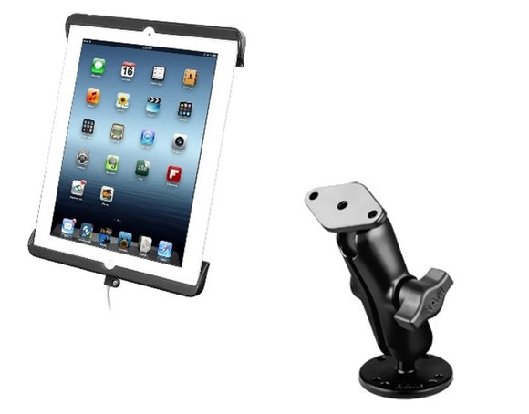 Flat Surface Center Console Boat Mount Holder for Apple iPad 4th Generation - Landloop