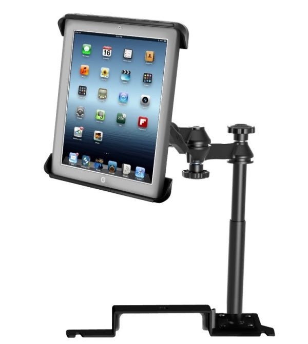 RAM No-Drill '11-18 Ford Explorer Mount Holder Kit fits Apple iPad 1 2 3 & 4 - landloop