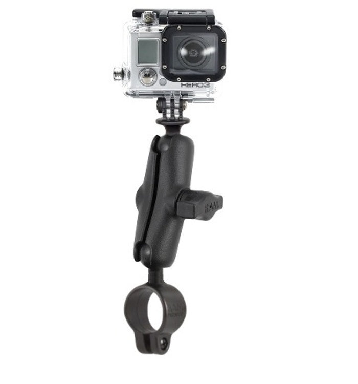 RAM Mounts Strong Bike Motorcycle Handlebar Mount Holder fits GoPro Hero Camera 1 2 3 & 4 - Landloop