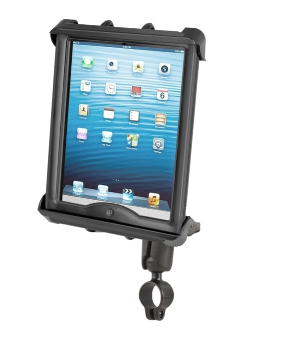 Bike Motorcycle Clamping Mount Holder Kit fits Apple iPad 1 2 3 4 10