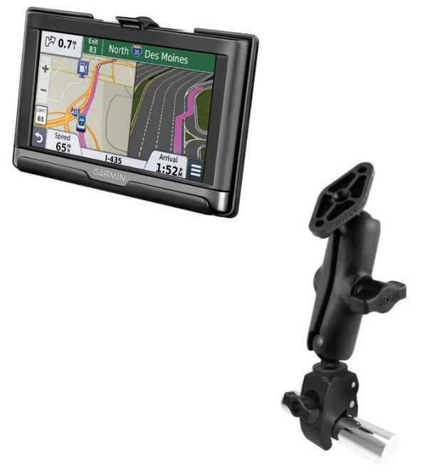 RAM Mounts Small Tough-Claw Rail Tube Mount Holder for Garmin nuvi 2557LMT 2577LT & 2597LMT - Landloop