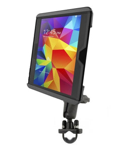 "Motorcycle Bike Mount fits 10"" Tablets Samsung Galaxy Tab 4 10.1 & Tab S 10.5 - Landloop"