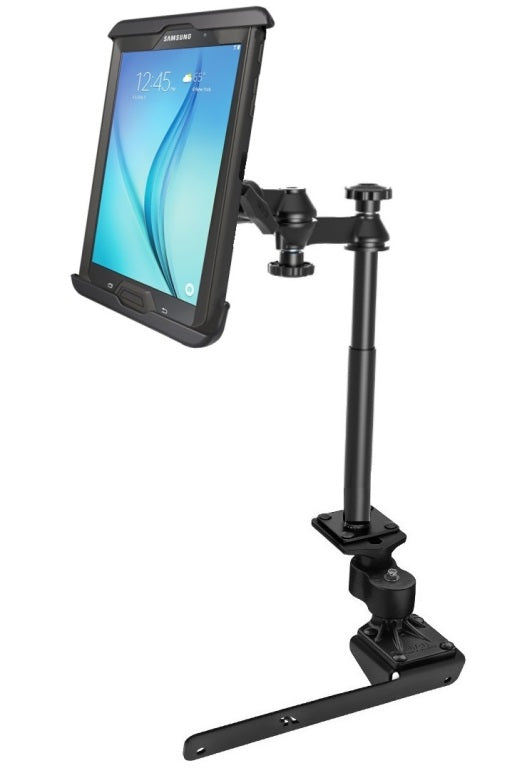 "RAM No-Drill Vehicle Clamping Mount Holder for 7-8"" Tablets in Heavy Duty Case - landloop"