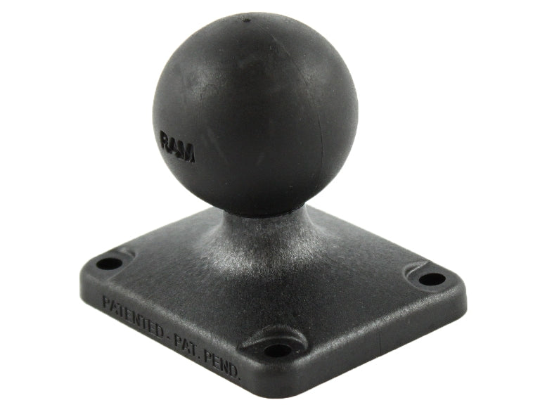 "RAP-202U-225 RAM 2"" x 2.5"" Rectangle Composite Base with 1.5"" Ball - landloop"