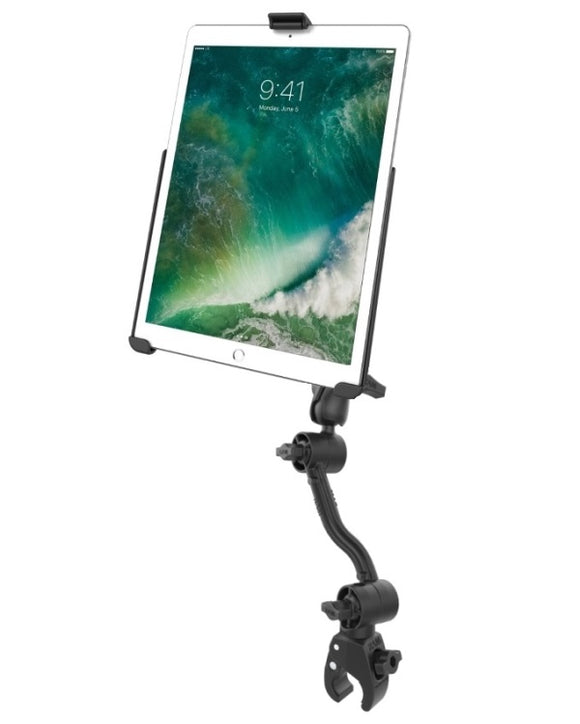 RAM Mounts Long Tough-Claw Wheelchair Rail Mount Kit for Apple iPad Pro 10.5