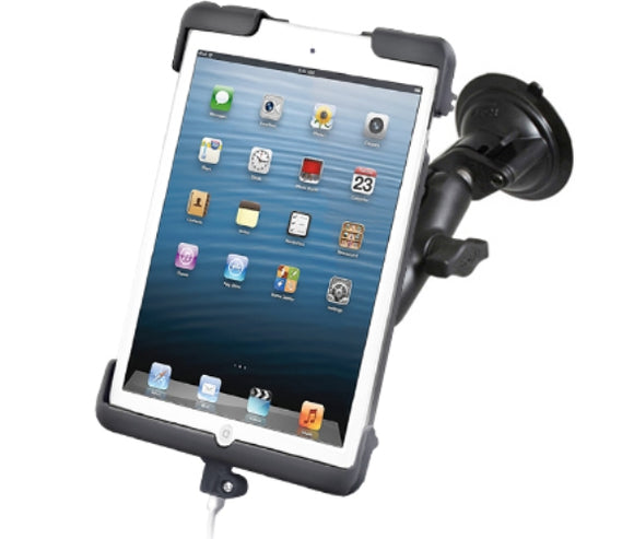 RAM Mounts Suction Cup Windshield Car Suv Mount w/ Clamping Cradle for Apple iPad mini - Landloop