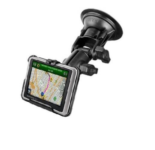 RAM Mounts RUGGED SUCTION CUP MOUNT FOR GARMIN NUVI 1100 1100LM 1200 1240 1245 1250 1260T - landloop