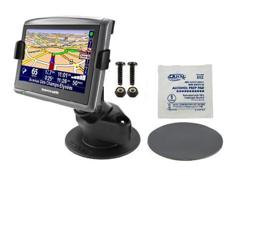 RAM Mounts RUGGED ADHESIVE CAR SUV TRUCK DASHBOARD MOUNT HOLDER FOR GPS TOMTOM ONE XL XLS - Landloop
