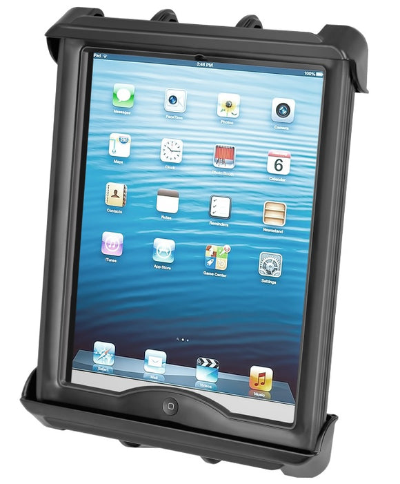 RAM-HOL-TAB8U RAM Mounts Tab-Tite Tablet Holder for Apple iPad Pro 9.7 with Case + More - landloop