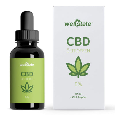 CBD Öl 5%, 500 mg (10 ml)-CBD oil-WellstateCBD