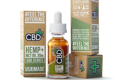 CBDfx Hemp & MCT Oil Tincture (500mg 30ml)