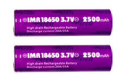 Efest 18650 Battery 2500mAh (35A Flat Top)