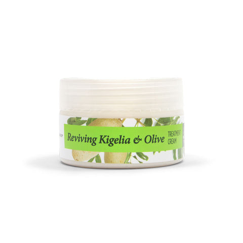 Reviving Kigelia Africana and Olive treatment cream.