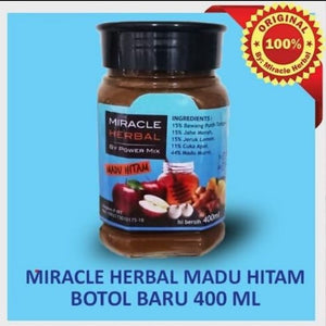 Miracle Herbal by Power Mix Madu Hitam PWB505
