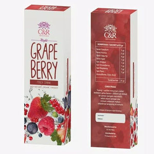 Miracle Blossom Fiber Drink Grape Berry Taste PWC301