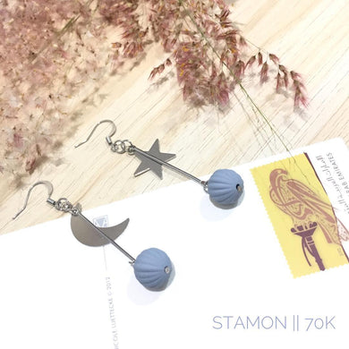 ANTING-ANTING KOREA Star Moon Grey PIA305
