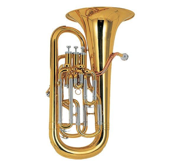 Coley Musical C-6493LWC Professional BƄ/F Euphonium, 3 Top/1 Side Action Valves