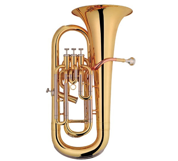 Coley Musical C-6493L Professional BƄ Euphonium, 3 Top/1 Side Action Valves