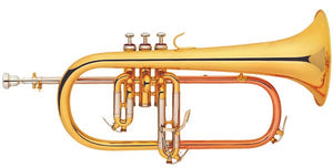 Coley Musical C-6419L BƄ Flugelhorn with trigger