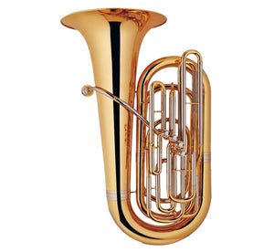 Coley Musical C-6481L BBƄ Tuba 4 Front Valves