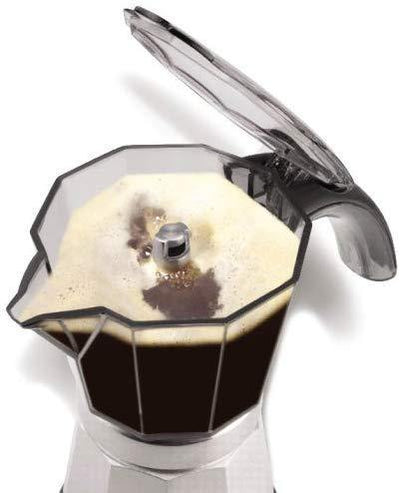 Delonghi 6 cup Moka Pot - Bean Hoppers