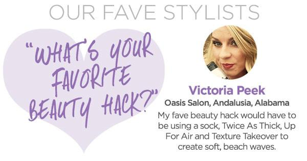 Our Fave Stylists - Victoria Peek