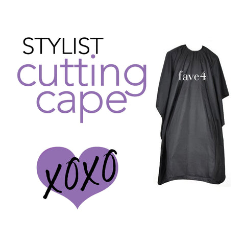 Stylist Cutting Cape