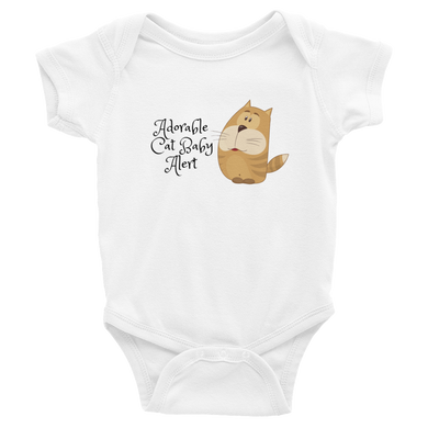 Adorable Cat Baby Alert | Baby Onesie