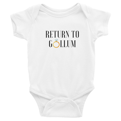 Return to Gollum | Baby Onesie