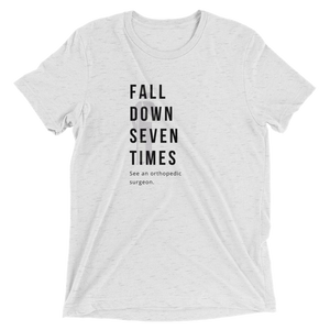 Fall Down Seven Times. See an Orthopedic Surgeon | Men's Fashion