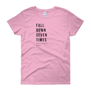 Fall Down Seven Times. See an Orthopedic Surgeon | Women's Fashion